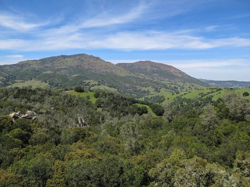 Main Peak & North Peak