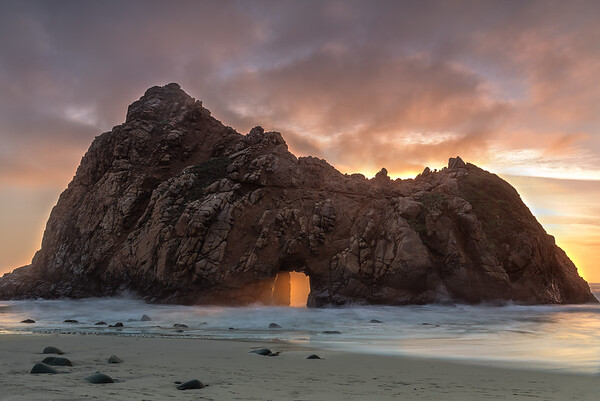 Keyhole Rock JP Beach
