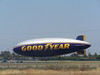 Goodyear Blimp on the Ground - 3