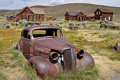 Rusted Car - Bodie