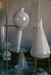Chemists items at the Wheaton and Hollis Hotel