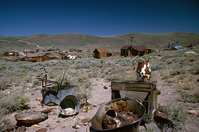 Junkyard and town of Bodie