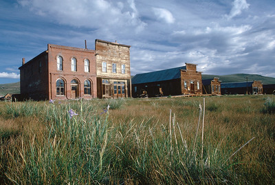 Bodie ghost town, business district