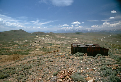 Bodie viewed from Standard Hill