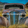 Abandoned Buick in Bodie, California