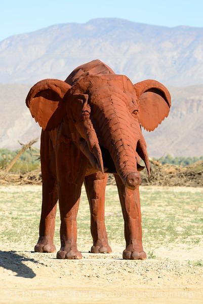 Borrego Springs CA sculptures by Ricardo Breceda (5)