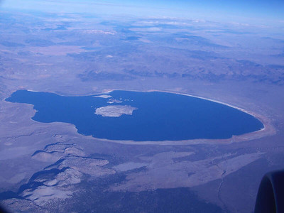 Mono Lake from the air