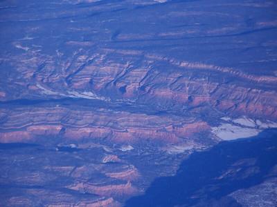 cliffs seen from the air