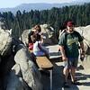 Sequoia National Park <br /> Spitze vom Moro Rock erreicht!