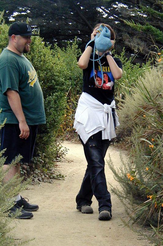 Point Lobos<br /> South Plateau Trail<br /> Jenny und Cliff