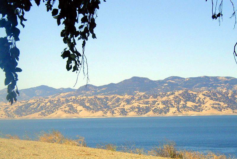 San Luis Dam near Los Banos