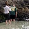 Point Lobos<br /> China Cove Beach<br /> Da ist eine Hoehle- hinein gehts!