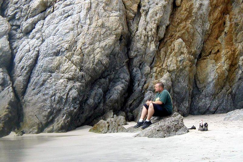 Point Lobos<br /> China Cove Beach<br /> Cliff