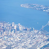 Downtown SF and the Oakland Bay Bridge