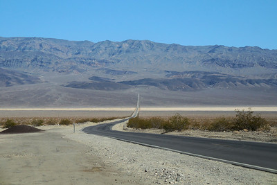 Road out of Death Valley (roughly Stove Pipe Wells through Panamint Springs Valley)