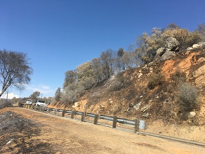Highway 140 Mariposa County Detwiler Fire July 2017