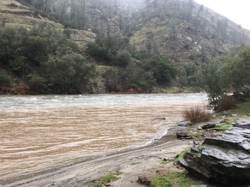 Merced River at Briceburg.