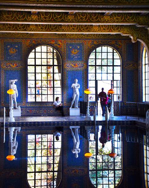 Roman Pool, Relections