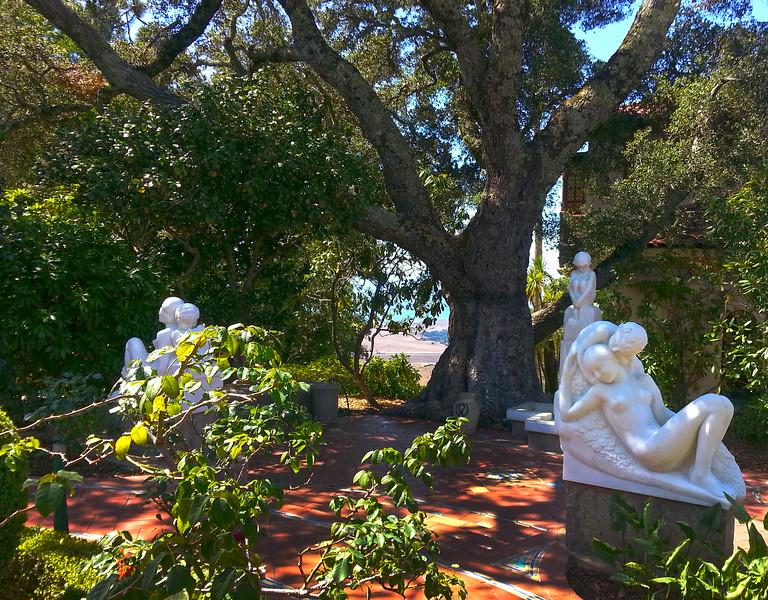 Romantic Garden Statues