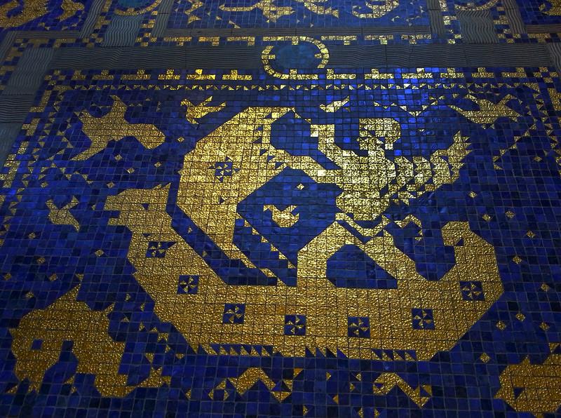 Hearst Castle, Indoor Pool Mosaics