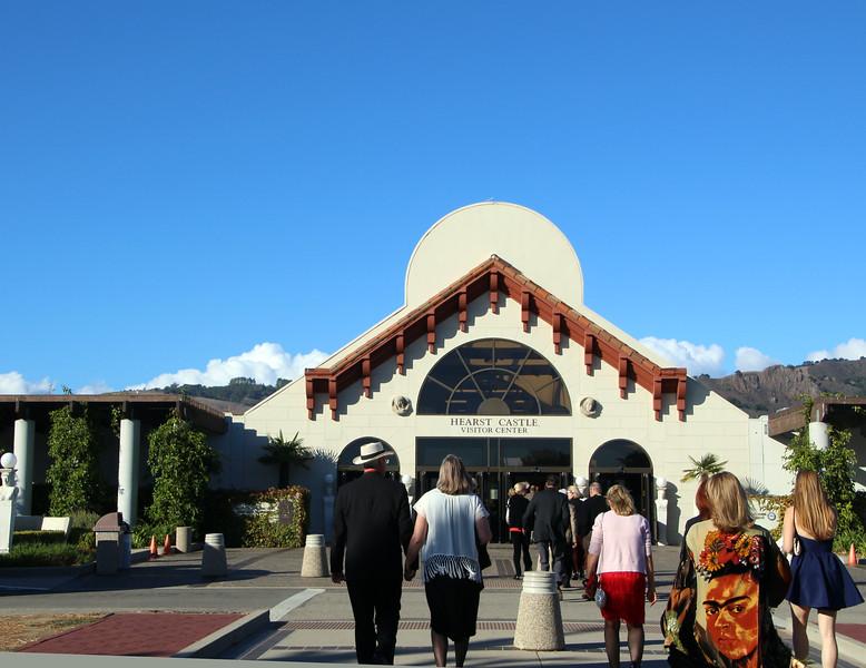 Hearst Castle, Vistor Center Entrance