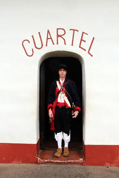 Lompoc California, La Purisma Mission, Docent in Period Costume