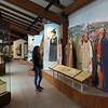Lompoc California, La Purisma Mission, Visitor Center Display