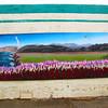 Lompoc California, City of Flowers Mural