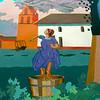 Lompoc California, Grape Stomp Mural