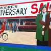Lompoc California,  Moore's Family Mural