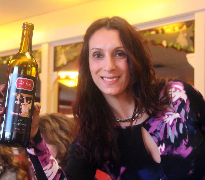 Lompoc California, La Botte Italian Restaurant, House Sangiovese Wine