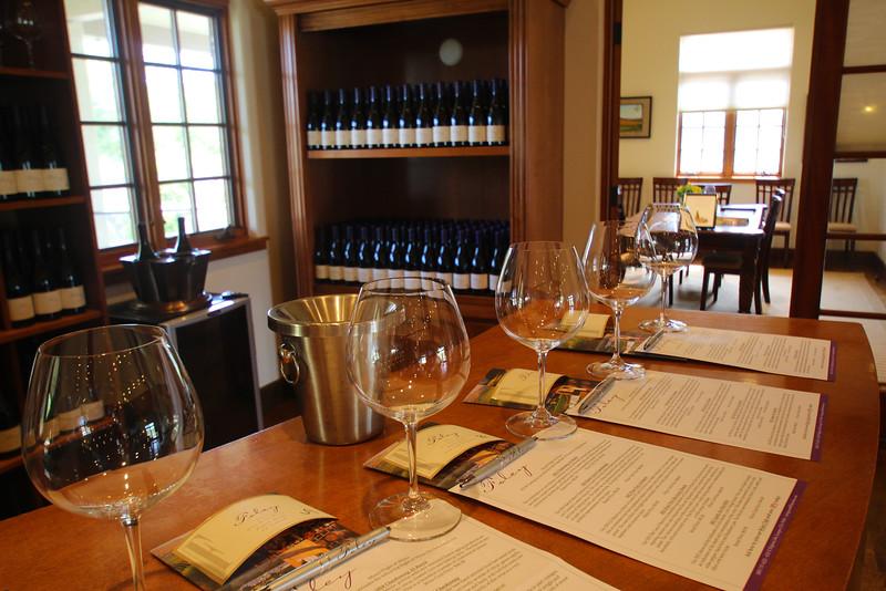 Lompoc California, Foley Winery Winetasting Reds