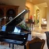 Lompoc California, Clos Pepe Vineyards, Grand Piano