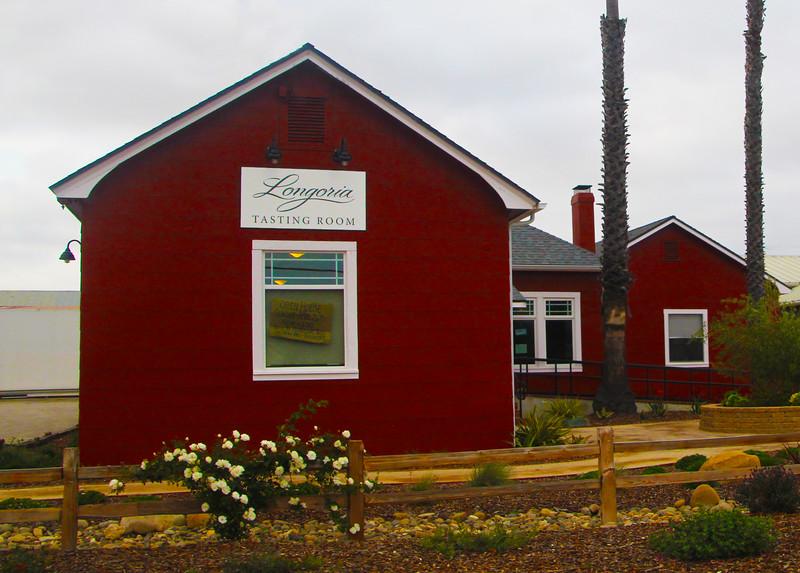 Lompoc California, Longoria Winery Tasting Room