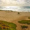 Lompoc California, Surf Beach, View at Dusk