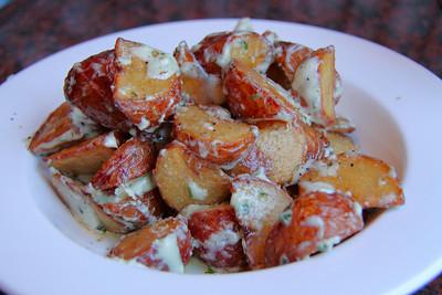 Gorgonzola Potato Wedges