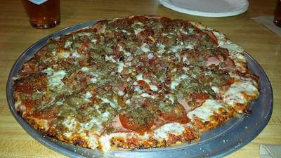 """Carnivore 14"""" inch pizza"""
