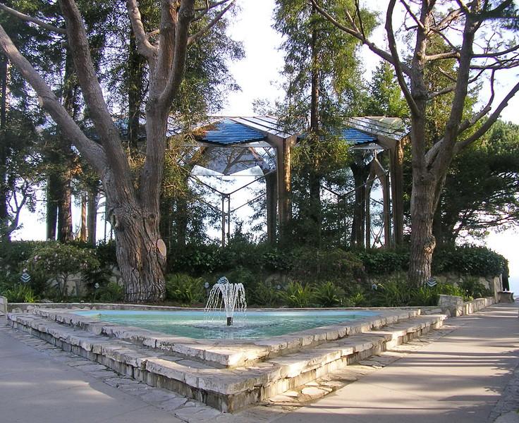 Wayfarers Chapel Fountain