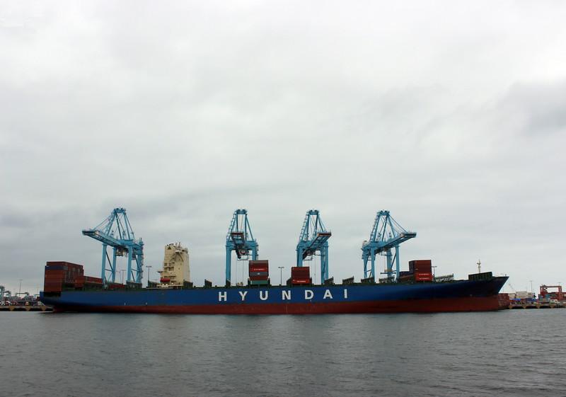 Hyundai Cargo Ship