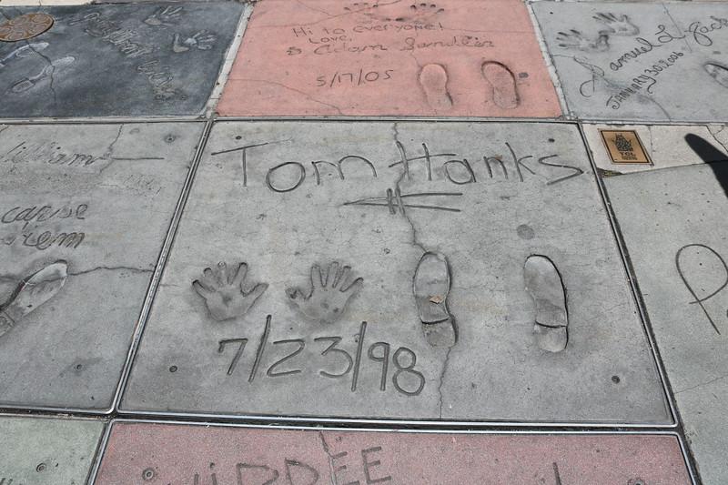 Tom Hanks, Adam Sandler, Samuel L. Jackson