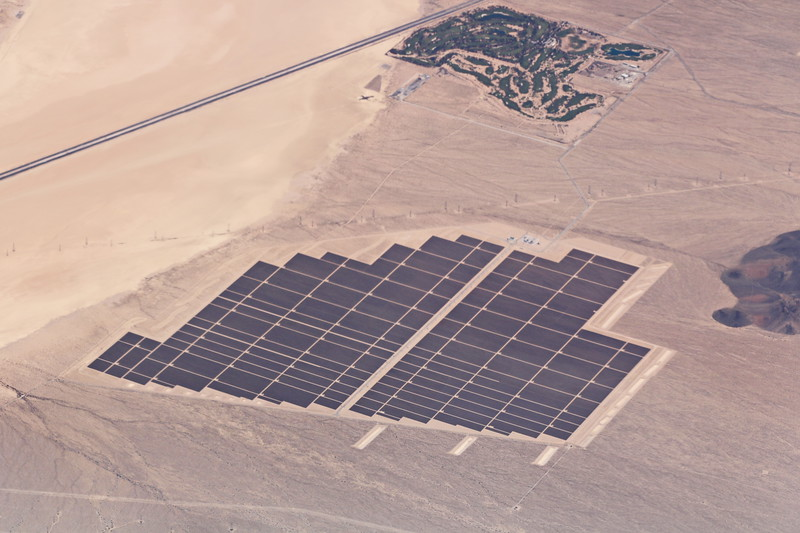 Solar Farm in the Desert