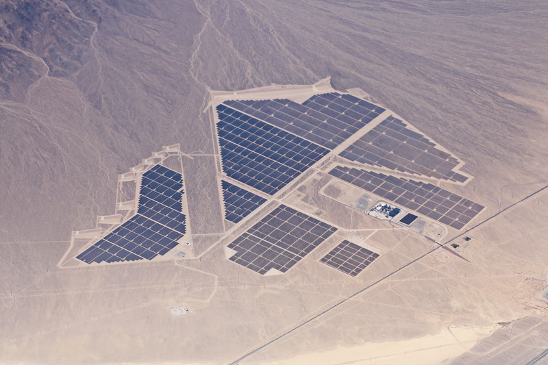Solar Array in the Desert