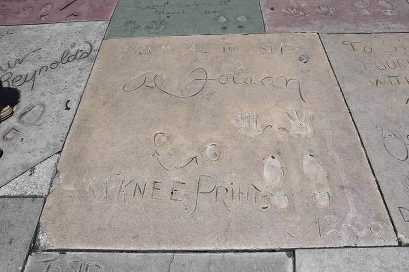 Al Jolson, Debbie Reynolds