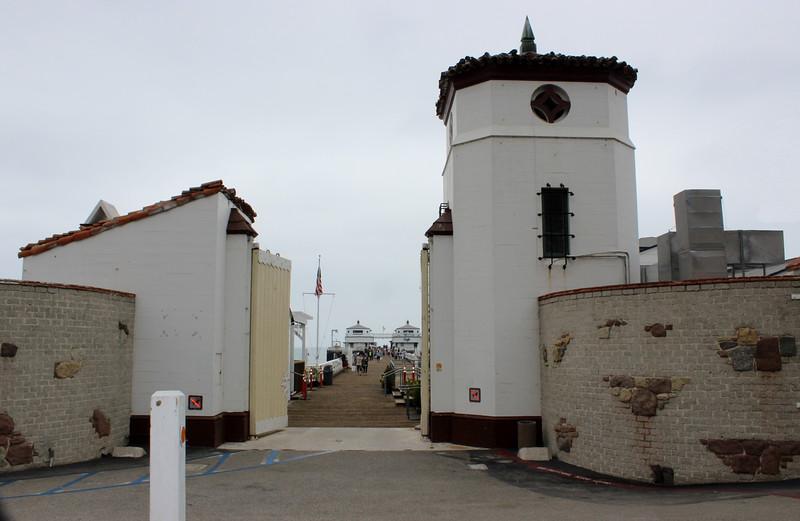 Malibu Pier Entrance