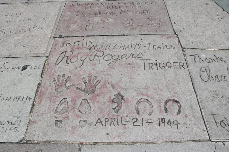 Roy Rogers and Trigger, Humphrey Bogart