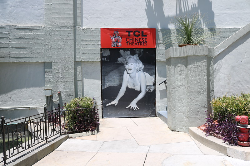 Marilyn Monroe Handprint in Cement