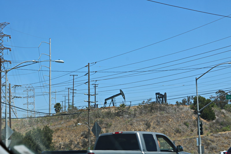 Oil Rigs in the City