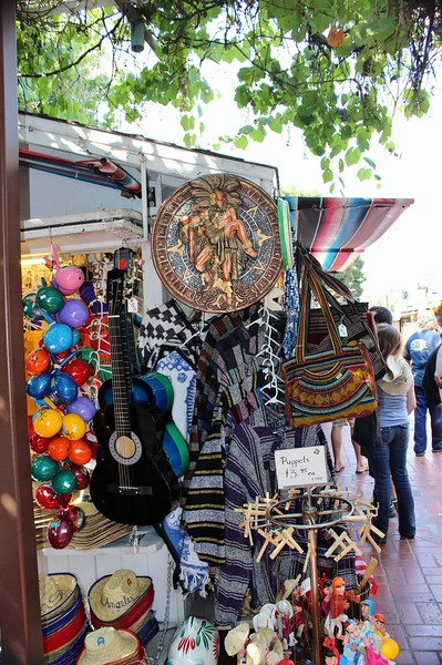 Shopping on Olvera Street