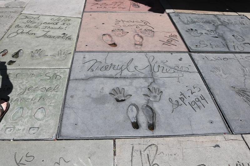 Meryl Streep, Steven Seagal, John Travolta