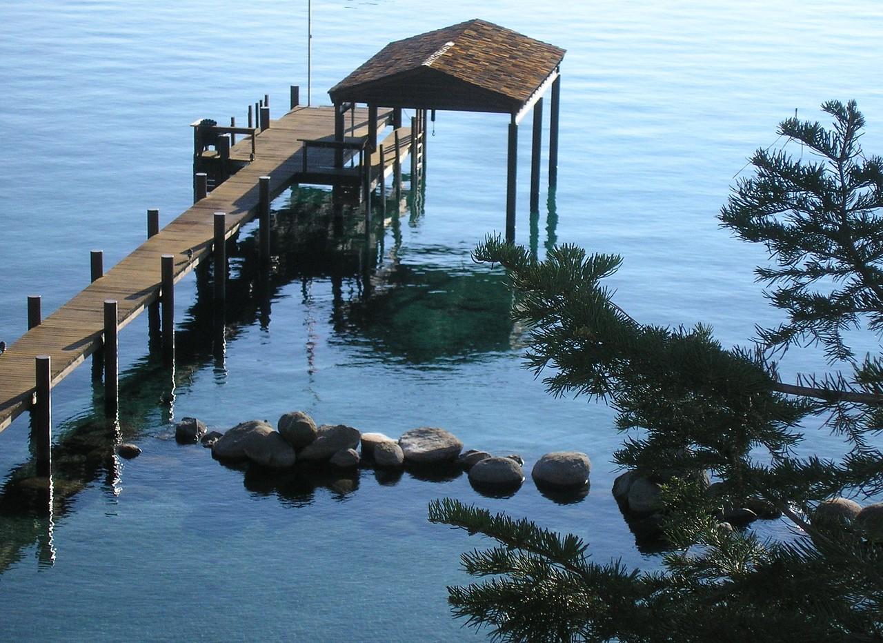 Dock at the Lake House